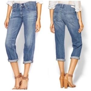 AG Adriano Goldschmied Tomboy Crop Jeans